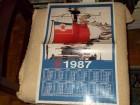 Kalendar 1987 Narodna armija