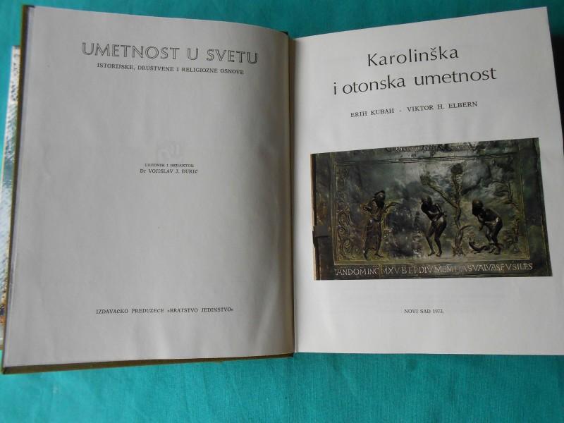 Kalolinška i otonska umetnost- E.Kubah i V.H.Elbern-/55