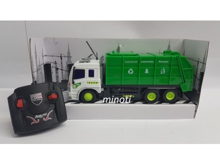 Kamion Djubretarac Na Daljinsko Upravljanje, Novo