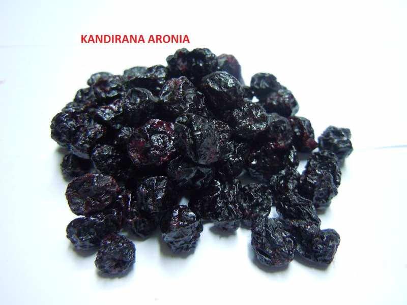 Kandirana aronija, aronia melanocarpa, 1kg.