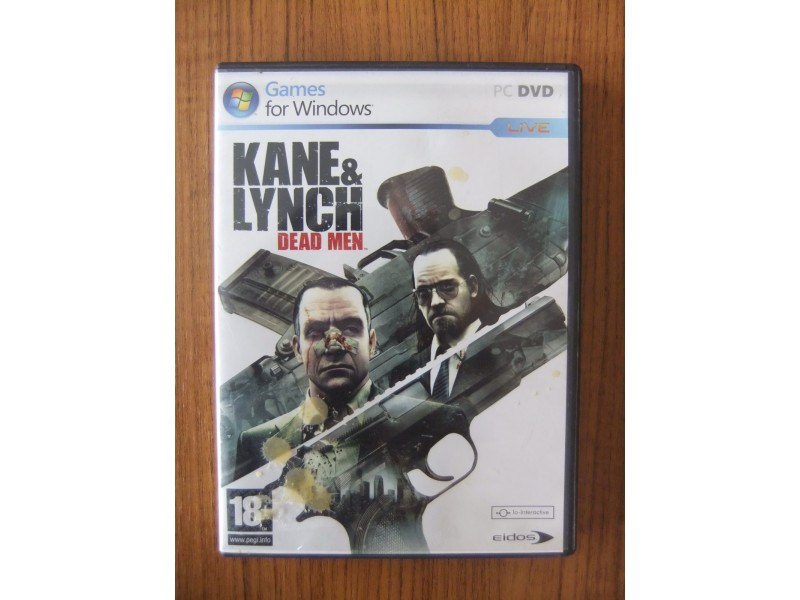 Kane and Lynch Dead Man igra za PC + GARANCIJA!