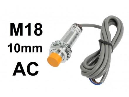 Kapacitivni senzor - CM18 - 10mm - AC - 250V - NO