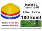 Kapice za obeležavanje terena (kupasti) 100kom.