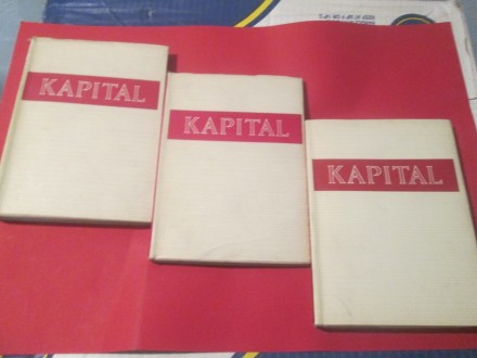 Kapital 1-3, komplet Karl Marks