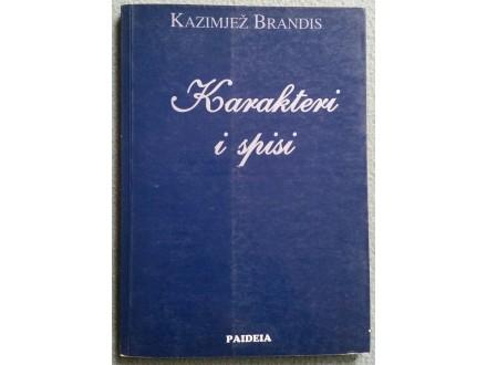 Karakteri i spisi  Kazimjež Brandis