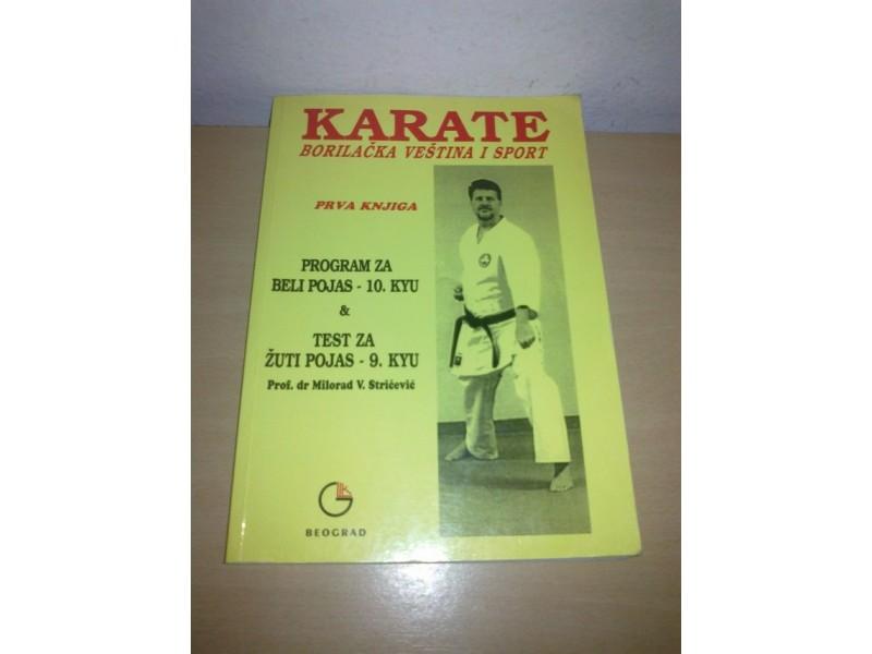 Karate borilačak veština i sport-Prof.dr.M.Stričević