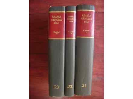 Karl Marx,Fridrich Engels-Kapital 1-3