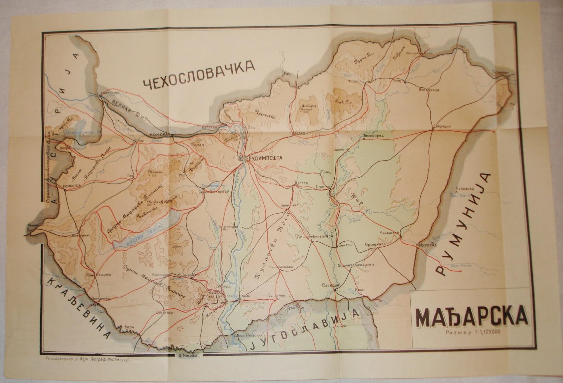 Karta Madjarske Kupindo Com 31073413