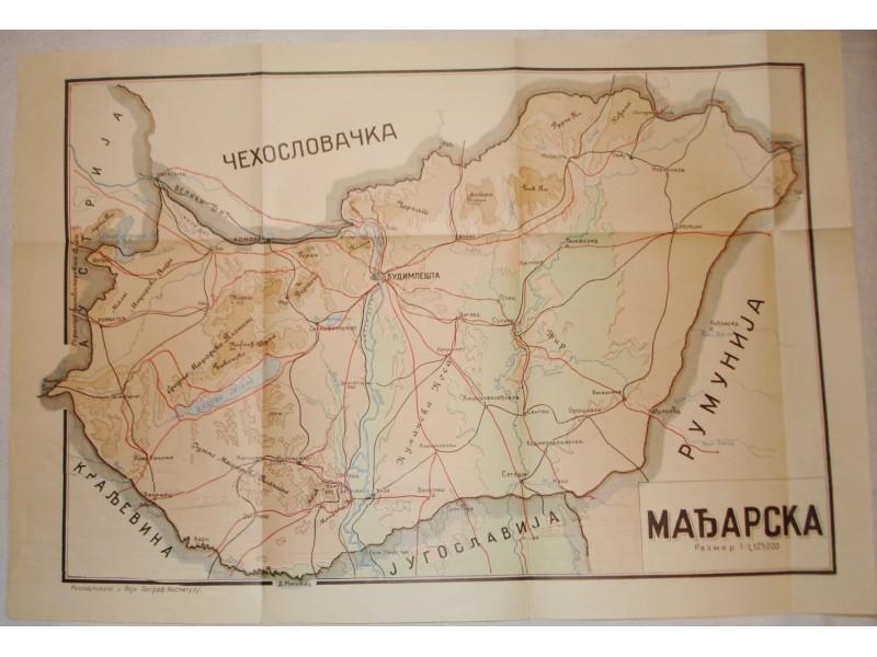 Karta Madjarske