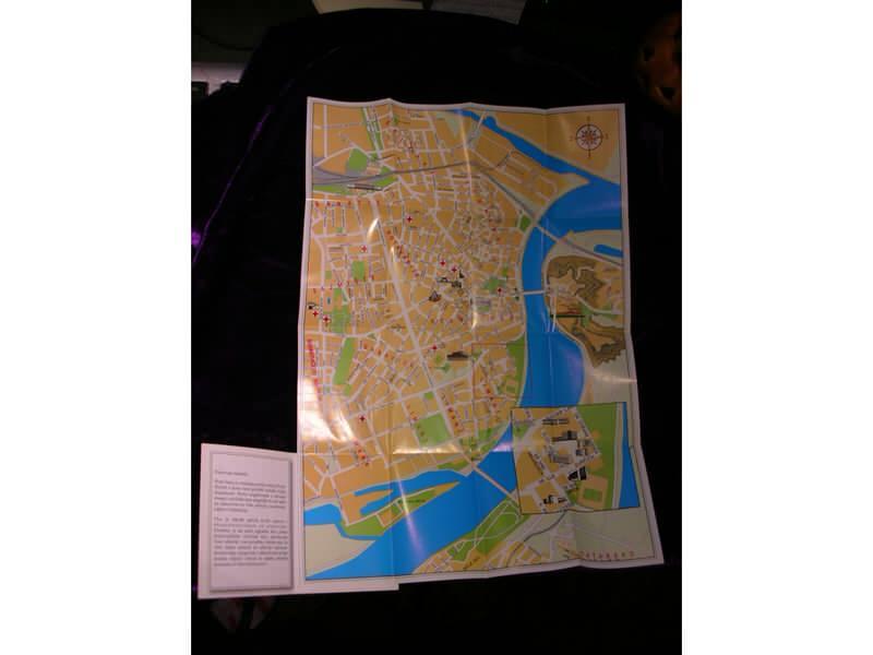 Karta Novog Sada za brucose