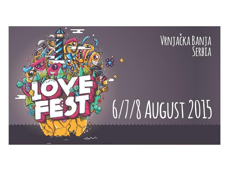 Karte za Love Fest