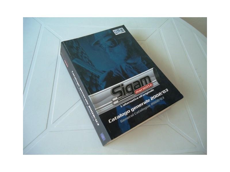 Katalog auspuha, SIGAM ( ITALIA )