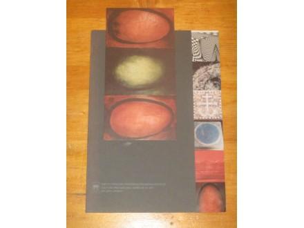 Katalog izložbe - galerija Urania, sa pozivnicom
