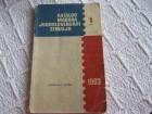 Katalog poštanskih markica YU  1963.