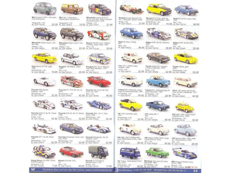 Katalog/prospekat za kolekcionarske modele (2)