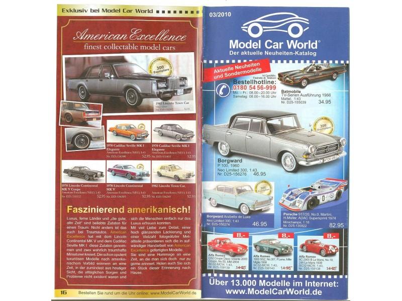 Katalog/prospekat za kolekcionarske modele (3)