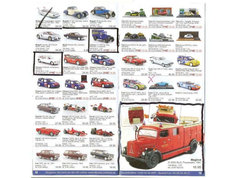 Katalog/prospekat za kolekcionarske modele (7)