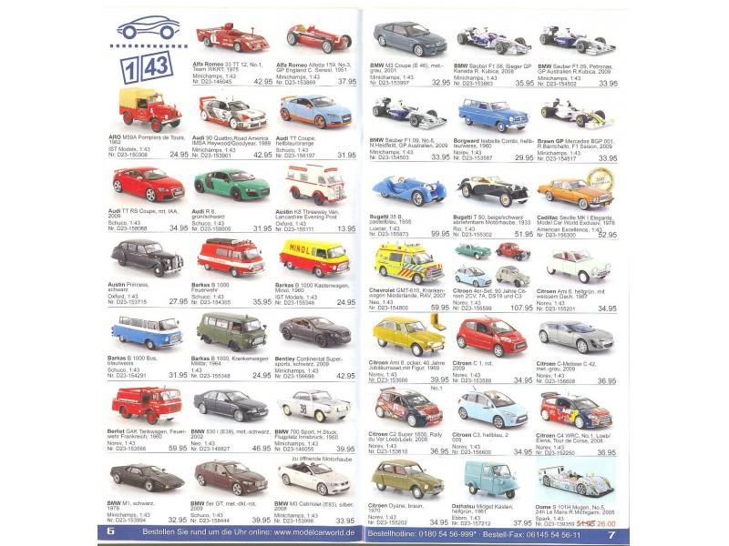 Katalog/prospekat za kolekcionarske modele