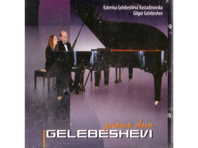 Katerina Gelebesheva Kostadinovska i Gligor Gelebeshev - Piano Duo Gelebeshevi