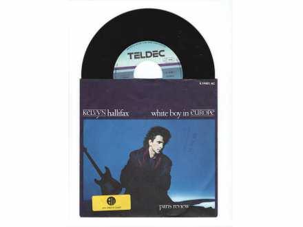 Kelvyn Hallifax - White Boy In Europe