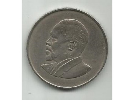 Kenja Kenya Kenija 1 shilling 1966.