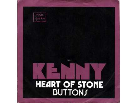 Kenny (3) - Heart Of Stone