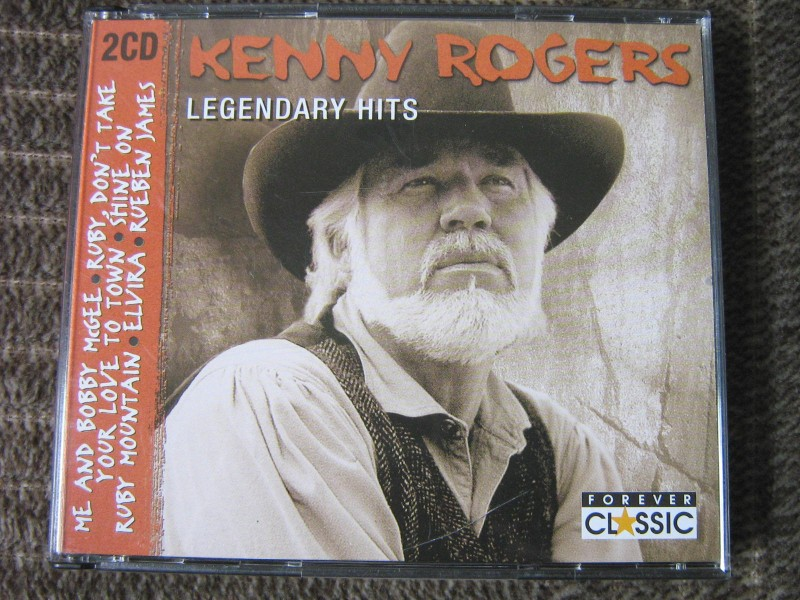 Kenny Rogers - Legendary Hits (2xCD)