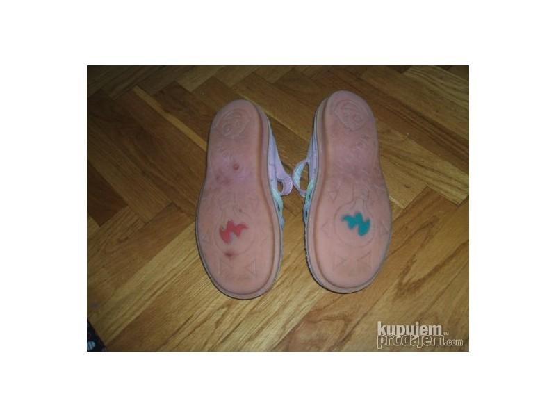 KicKers sandale prirodna koza