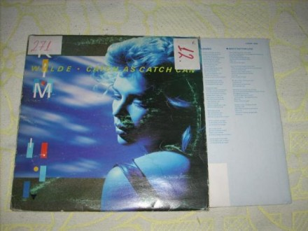 Kim Wilde-Catch As Catch Can LP