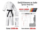 Kimono za Judo: dečiji - 14