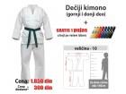Kimono za karate: dečiji - 10