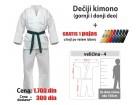 Kimono za karate: dečiji - 4