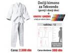 Kimono za tekvondo: dečiji - 12