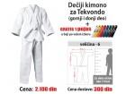 Kimono za tekvondo: dečiji - 6