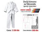 Kimono za tekvondo: dečiji - 8