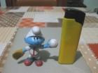 Kinder figura - Štrumpf igra bezbol (Peyo 2009 Lafig)