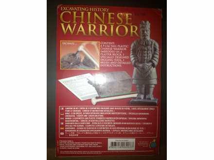 Kineski ratnik za male arheologe