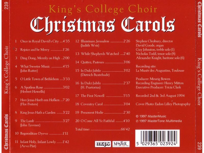 King`s College Choir - Christmas Carols