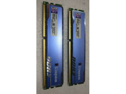 Kingston 2X4Gb 1333Mh ddr3 memorije