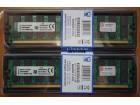 Kingston DDR2 8GB 800MHz (2 x 4GB) za AMD - NOVO -