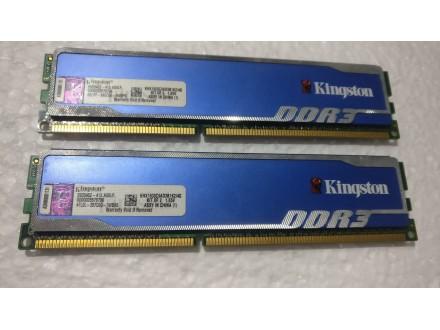Kingston XiperX 2X2Gb 1600Mh DDR3