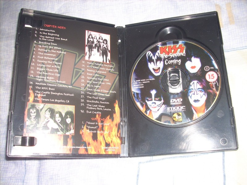 Kiss ‎– The Second Coming DVD