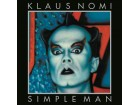 Klaus Nomi ‎– Simple Man (LP) /1982,re 2020/