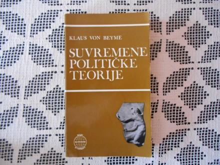 Klaus von Beyme - Suvremene političke teorije