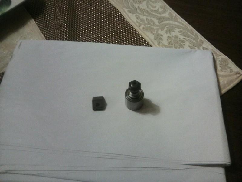 Klizece rolne i špic-nokti grajfera druk cilindra