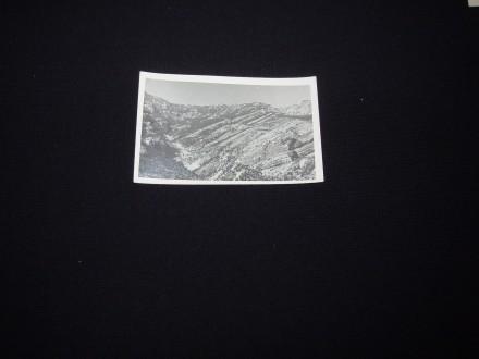 Knin,okolina,cb fotografija/razglednica,oko 1940.