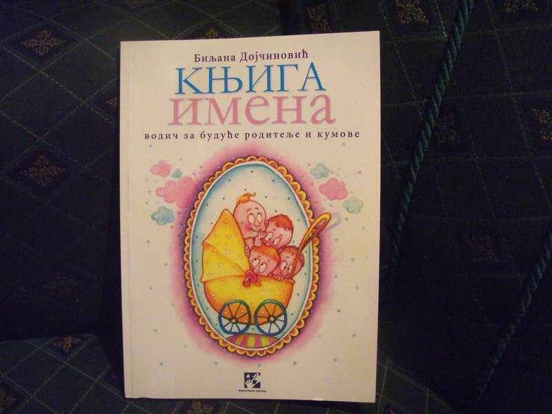 Knjiga imena, vodič za buduće roditelje i kumove