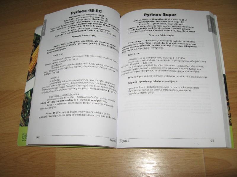 Knjiga o preparatima primeni i problemima