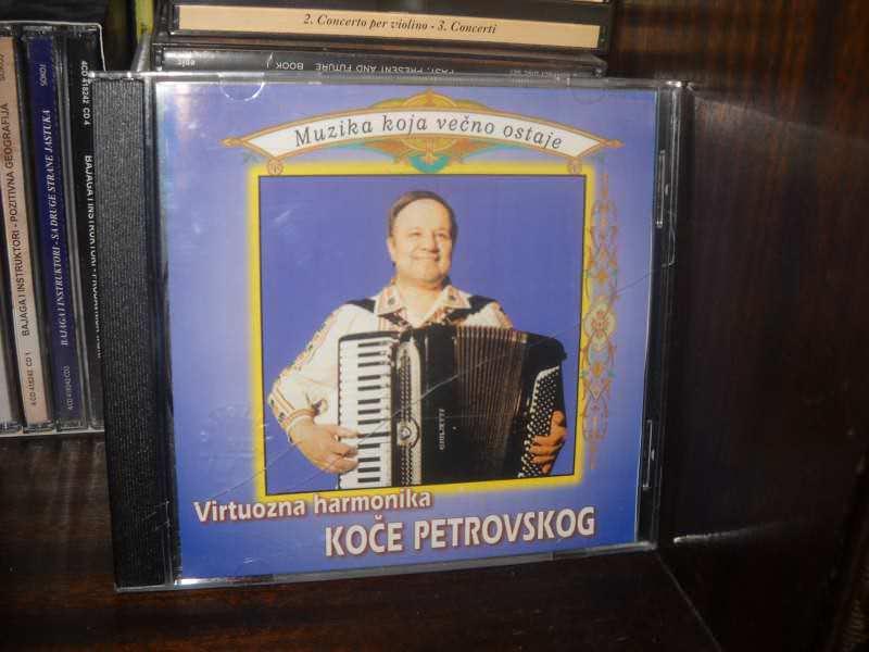 Koče Petrovski - Virtouzna Harmonika Koče Petrovskog