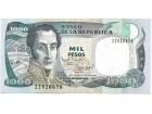 Kolumbija Colombia 1000 pesos 1995. UNC